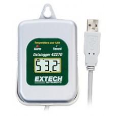 Extech 42275 Sıcaklık, Bağıl Nem Veri Toplayıcı (Set)