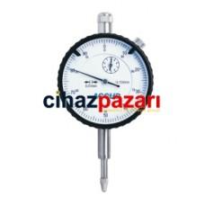 0-10mm Accud Komparatör Saati Düz Kapaklı