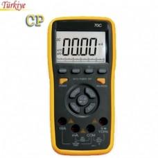 VC 70C Dijital Multimetre