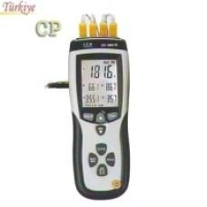 DT 8891E 4 Kanallı Dijital Datalogger Termometre