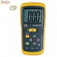 DT 612 Çift Girişli Dijital Termometre