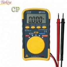 DT 111 Cep Tipi Dijital Multimetre